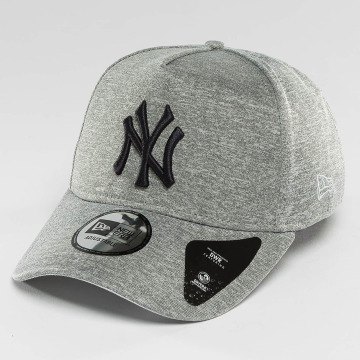 New Era Snapback Caps Jersey Tech A-Frame NY Yankees harmaa