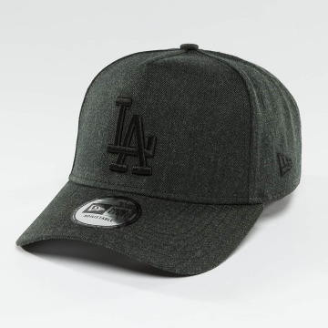 New Era Snapback Caps Seasonal Heather Aframe LA Dodgers harmaa