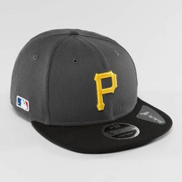 New Era Snapback Caps Diamond Pop Pittsburgh Pirates harmaa