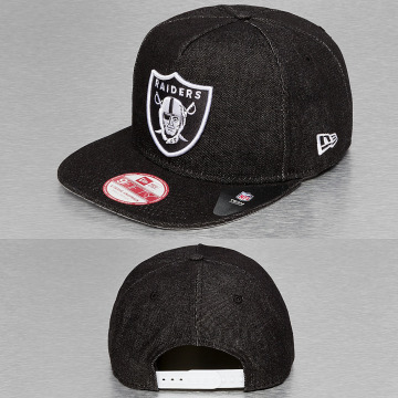 New Era Snapback Caps NFL Denim musta