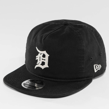 New Era Snapback Caps Chain Stitch Detroit Tigers musta
