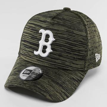 New Era Snapback Caps Engineered Fit Boston Red Sox 9Fifty oliivi