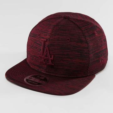 New Era Snapback Caps Engineered Fit LA Dodgers 9Fifty punainen