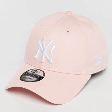 New Era Snapback Caps League Essential NY Yankees růžový