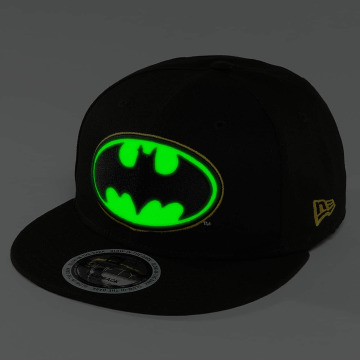 New Era Snapback Caps Team GITD Basic Batman 9Fifty svart