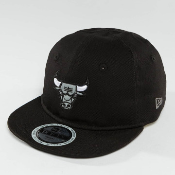 New Era Snapback Caps Reflect Chicago Bulls 9Fifty svart