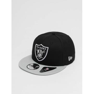 New Era Snapback Caps Super Oakland Raiders svart