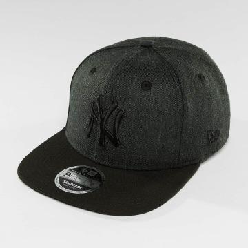 New Era Snapback Caps Seasonal Heather NY Yankees szary
