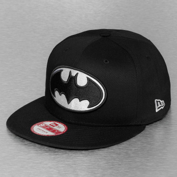 New Era Snapbackkeps Black White Basic Batman svart