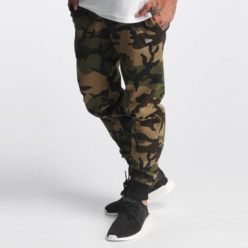 New Era Spodnie do joggingu Woodland Oakland moro