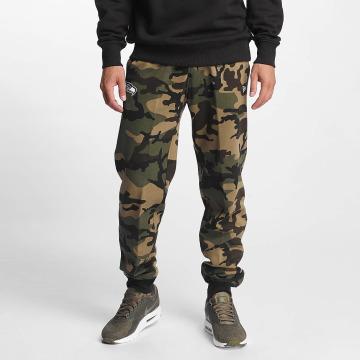 New Era Spodnie do joggingu Woodland Seattle Seahawks moro