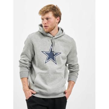 New Era Sweat capuche Team Logo Dallas Cowboys gris