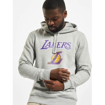 New Era Sweat capuche Team Logo LA Lakers Hoody gris