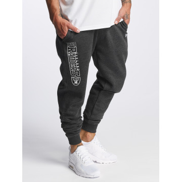 New Era Sweat Pant Team Wordmark Oakland Raiders Tracker gray