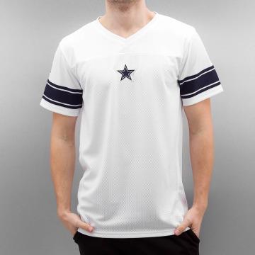New Era T-paidat Team Apparel Supporters Dallas Cowboys valkoinen