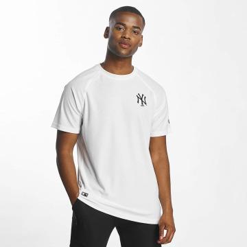 New Era T-Shirt Stealth blanc