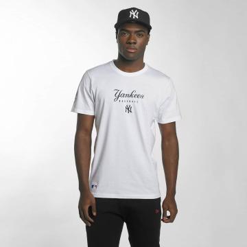 New Era T-Shirt Team Apparel NY Yankees blanc