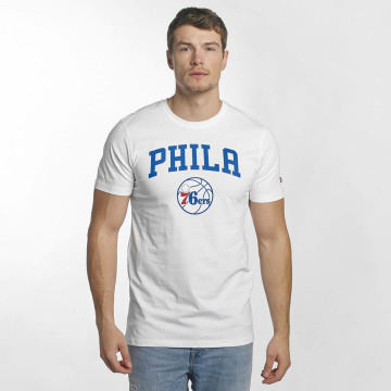 New Era T-Shirt Team Logo Philadelphia 76ers blanc
