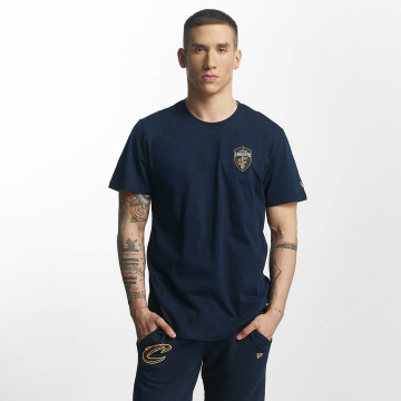 New Era t-shirt Tip Off Cleveland Cavaliers Chest blauw