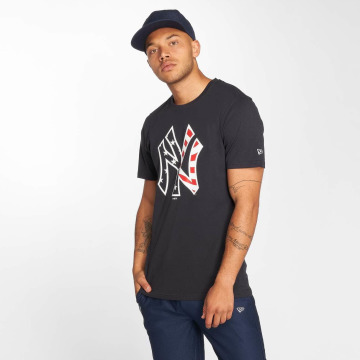 New Era T-Shirt Team Apparel NY Yankees Infill bleu