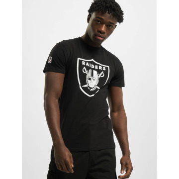 New Era T-shirt Team Logo Oakland Raiders nero