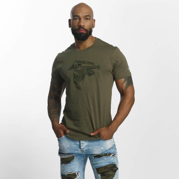 New Era T-Shirt NFL Camo Atlanta Falcons olive
