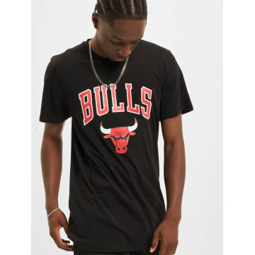 New Era t-shirt Team Logo Chicago Bulls zwart