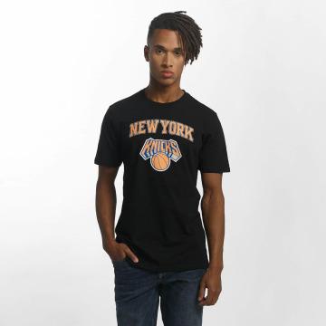 New Era t-shirt Team Logo NY Knicks zwart