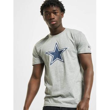 New Era T-shirts Team Logo Dallas Cowboys grå