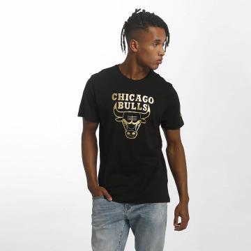 New Era T-Shirty BNG Chicago Bulls Graphic czarny