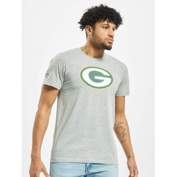 New Era T-Shirty Team Logo Green Bay Packers szary