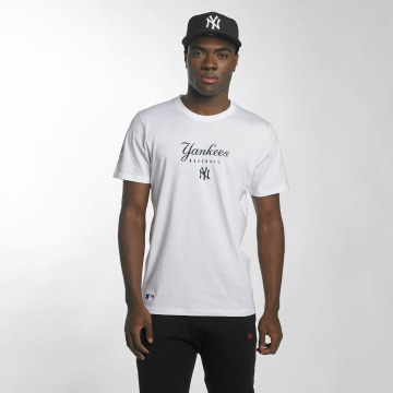 New Era T-skjorter Team Apparel NY Yankees hvit