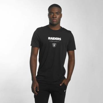 New Era T-skjorter Team Apparel Oakland Raiders svart