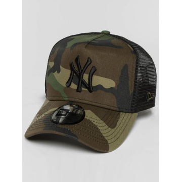 New Era Trucker Cap lean NY Yankees camouflage