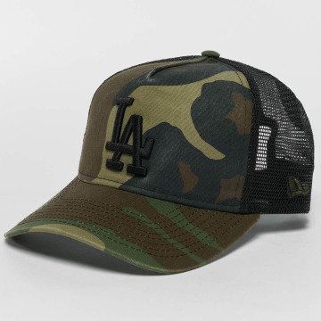 New Era trucker cap Washed Camo LA Dodgers camouflage