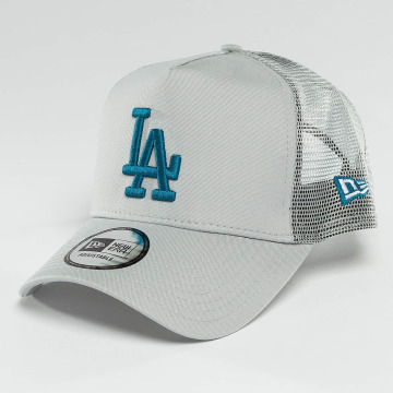 New Era Trucker Cap League Essential LA Dodgers gray