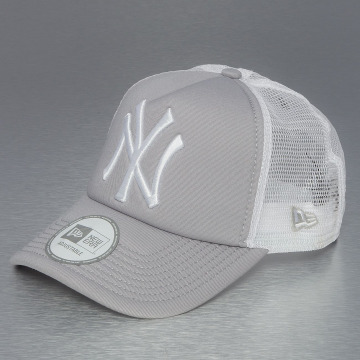 New Era Trucker Cap Clean NY Yankees gray