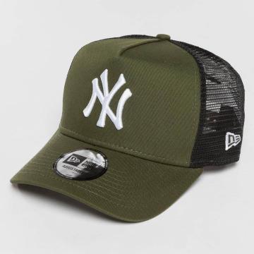 New Era Trucker Cap League Essential NY Yankees green