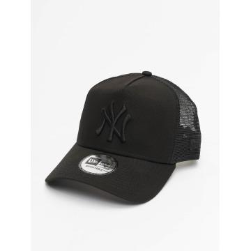 New Era Trucker Cap Clean schwarz