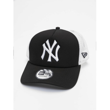 New Era trucker cap Clean zwart