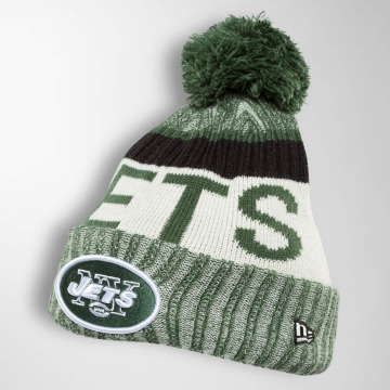 New Era Wintermütze On Fiel NFL Sport NY Jets grün
