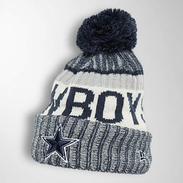 New Era Wollmützen On Fiel NFL Sport Dallas Cowboys blue