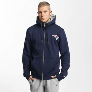 New Era Zip Hoodie New England Patriots blå