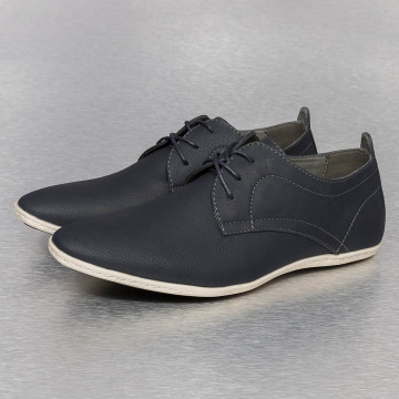 New York Style Sneakers Low niebieski