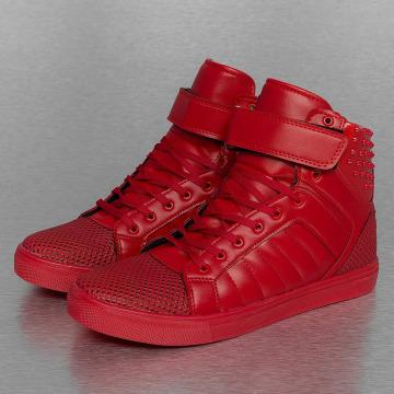 New York Style Sneakers Rivet röd