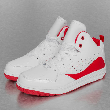 New York Style Sneakers Mid Top vit