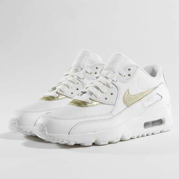 Nike Сникеры Air Max 90 Leather (GS) белый