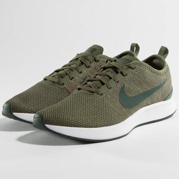 Nike Сникеры Dualtone Racer оливковый