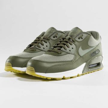 Nike Сникеры Air Max 90 оливковый
