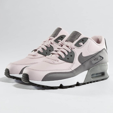 Nike Сникеры Air Max 90 Leather (GS) розовый